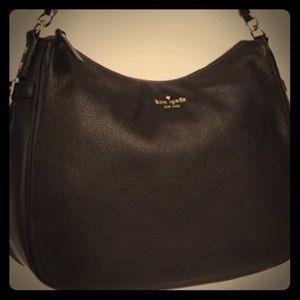 Authentic Kate Spade Hobo/Cross body handbag black